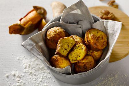 Zoete aardappel muffin