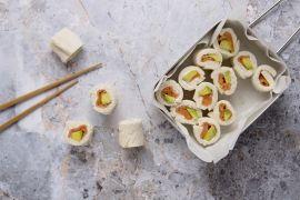 Foto van Sushi sandwich