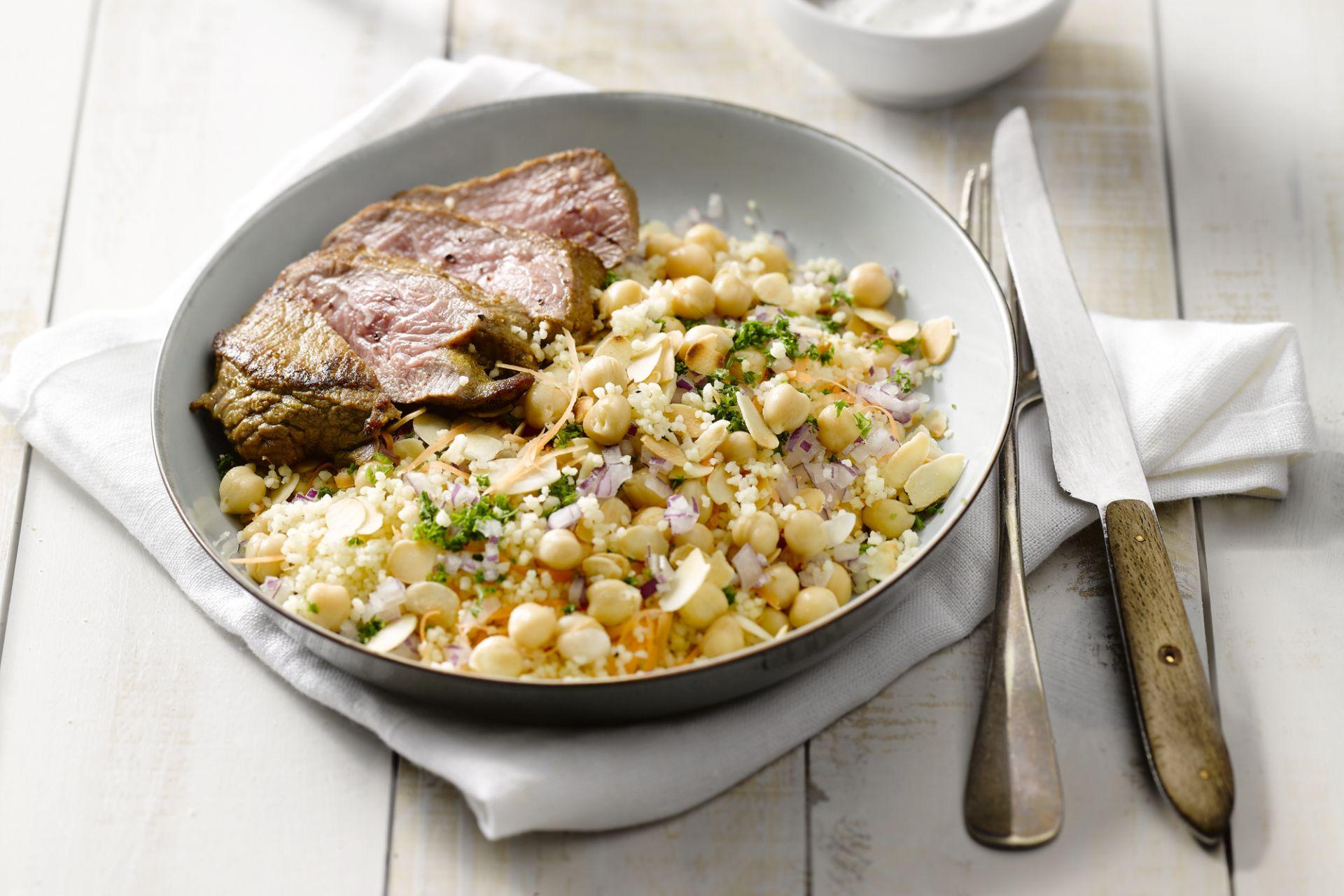 Marokkaans lam met couscous