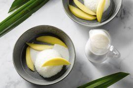 Foto van Mango sticky rice