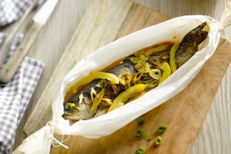 Oosterse papillot van forel