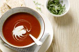 Foto van Tomatenroomsoep