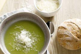 Foto van Broccolisoep met kaas