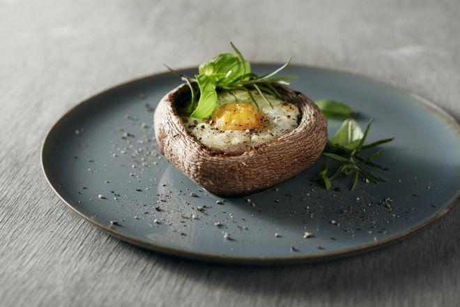Breakfast portobello