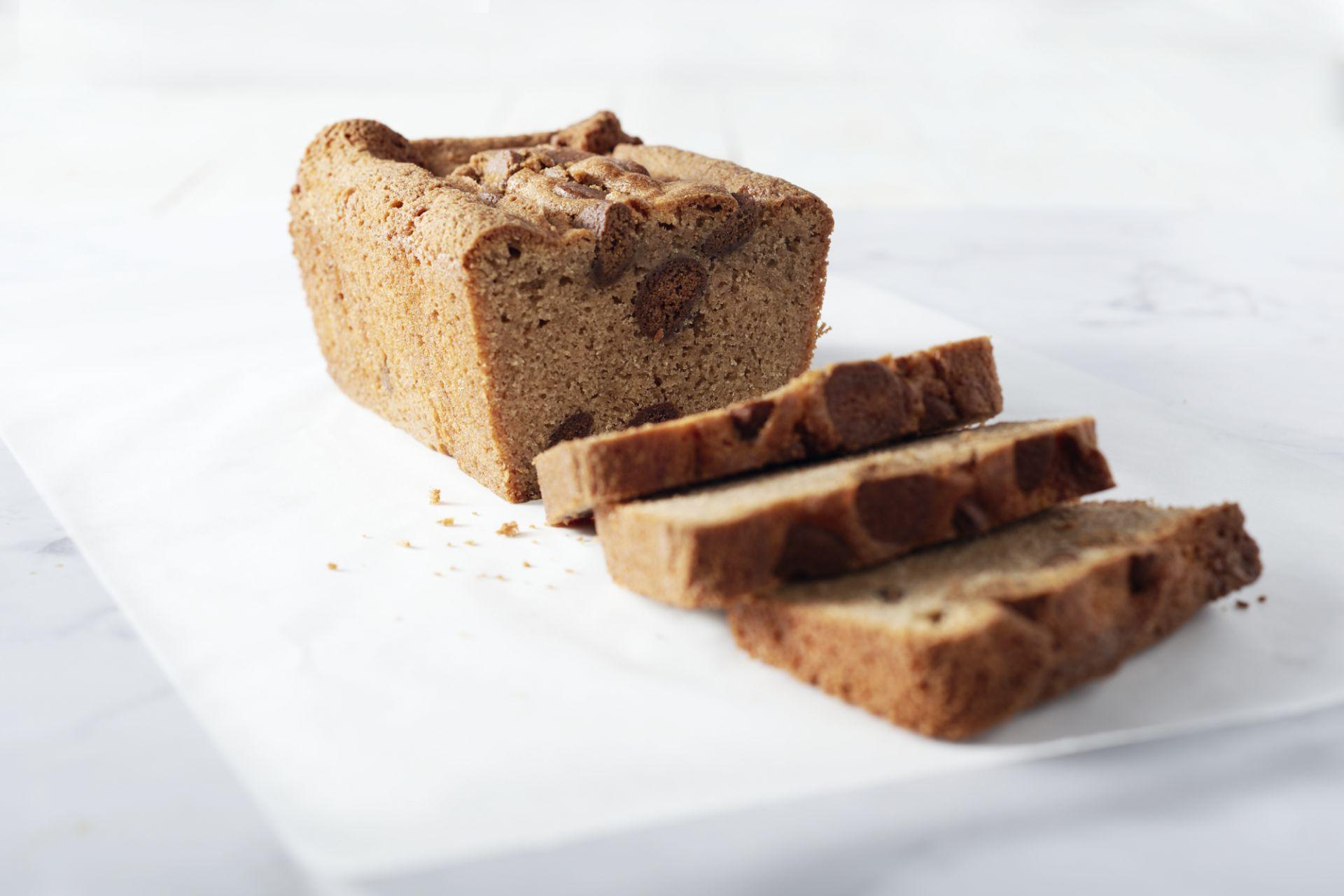 Speculaascake met kruidnoten