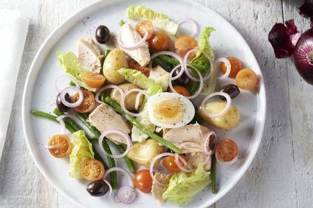 Lichte salade Niçoise