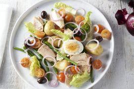 Foto van Lichte salade Niçoise