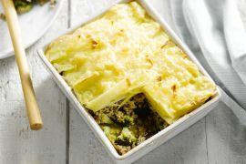 Foto van Ovenschotel met gehakt en broccoli