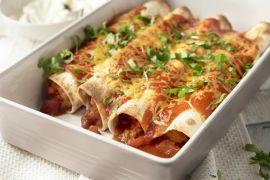 Foto van Enchiladas met kip