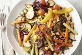 Foto van Couscous met 7 groenten
