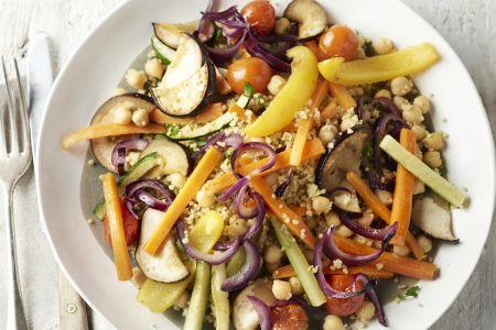 Couscous met 7 groenten