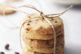 Foto van Chocolate chip cookies