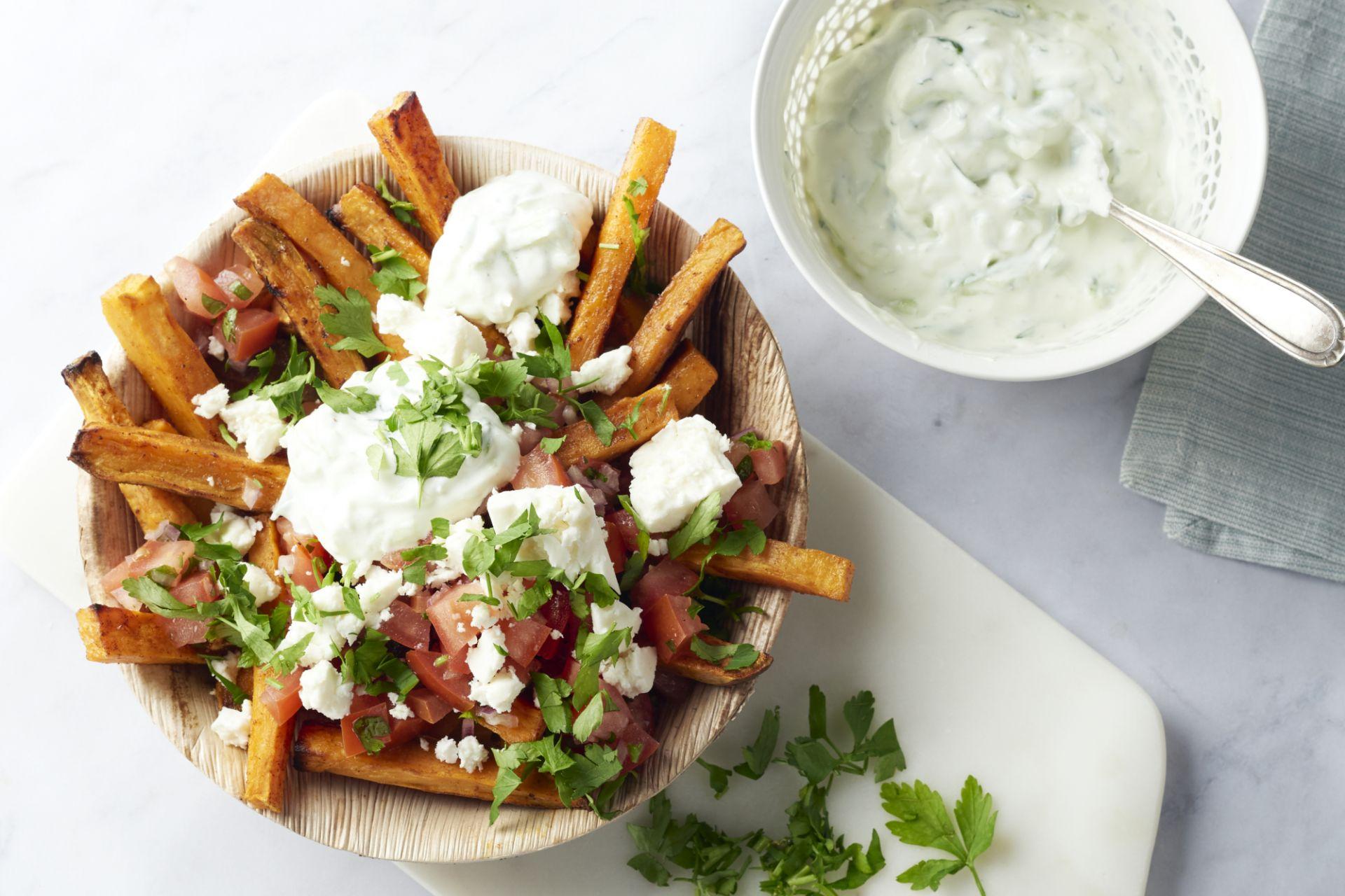 Mediterraanse street food frietjes