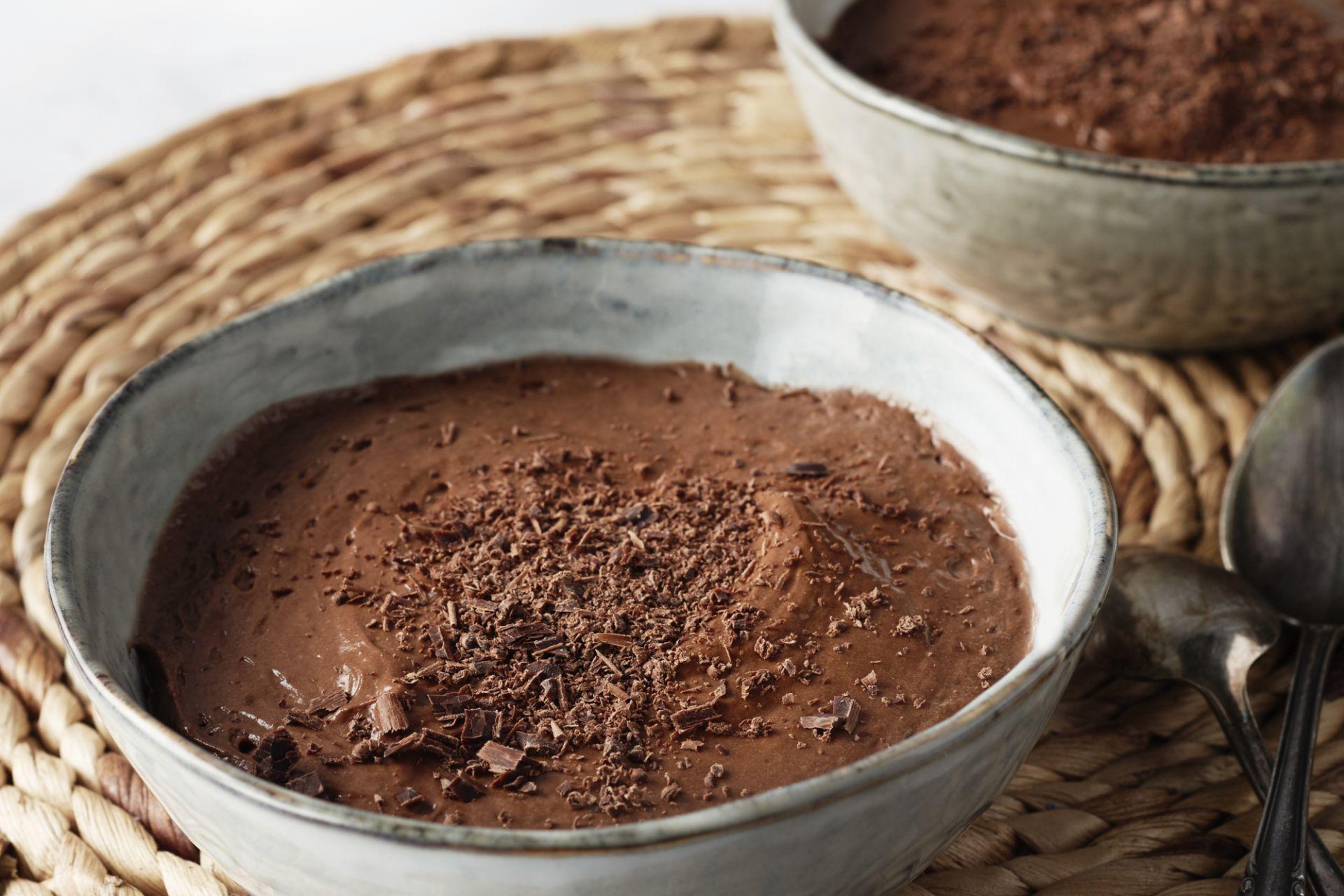 Klassieke chocolademousse