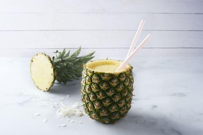 Tropische ananas mocktail