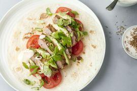 Foto van Fajita's met biefstuk