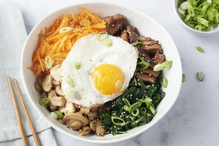 Koreaanse bibimbap
