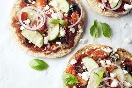 Foto van Griekse pizzetta's