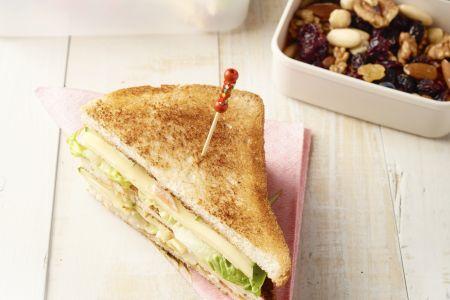 Club sandwich lunchbox