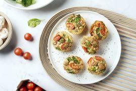 Foto van Omelet muffins
