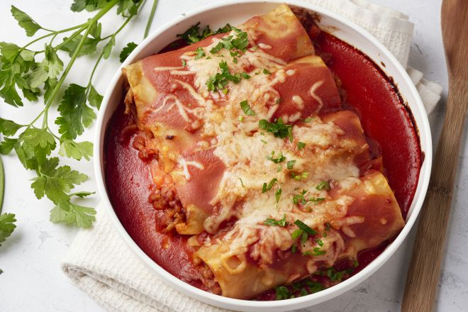 Cannelloni bolognaise
