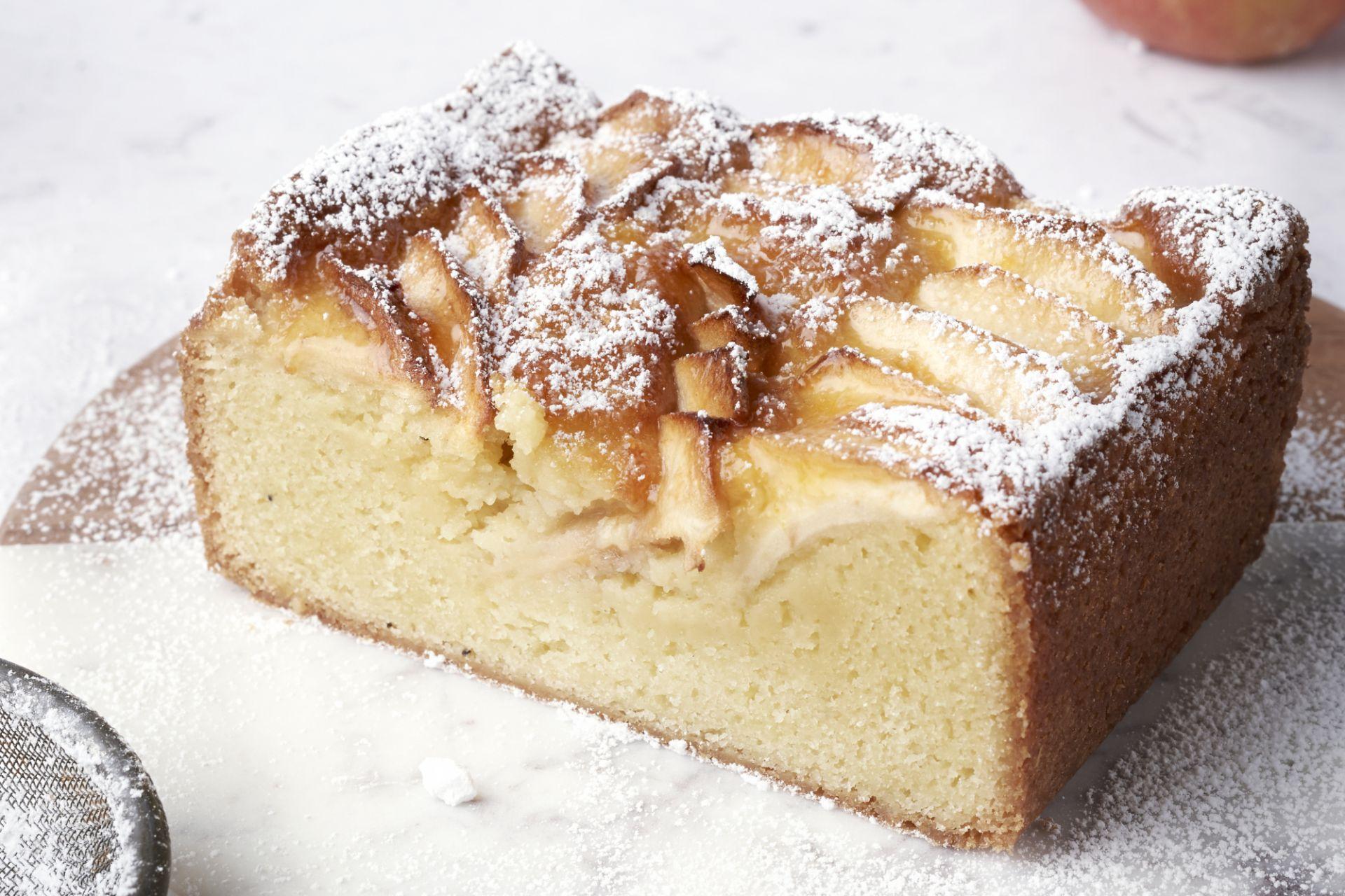 4/4de cake met appel