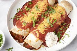 Foto van Vegetarische enchiladas