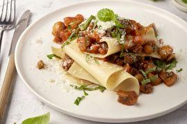 Foto van Snelle open veggie lasagne