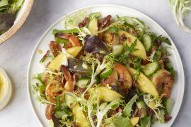 Foto van Salade folle met krulandijvie