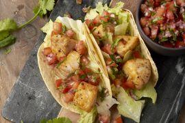 Foto van Vistaco's met tomatensalsa