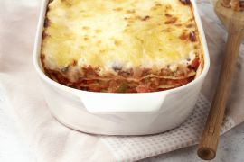 Foto van Lasagne ratatouille stijl