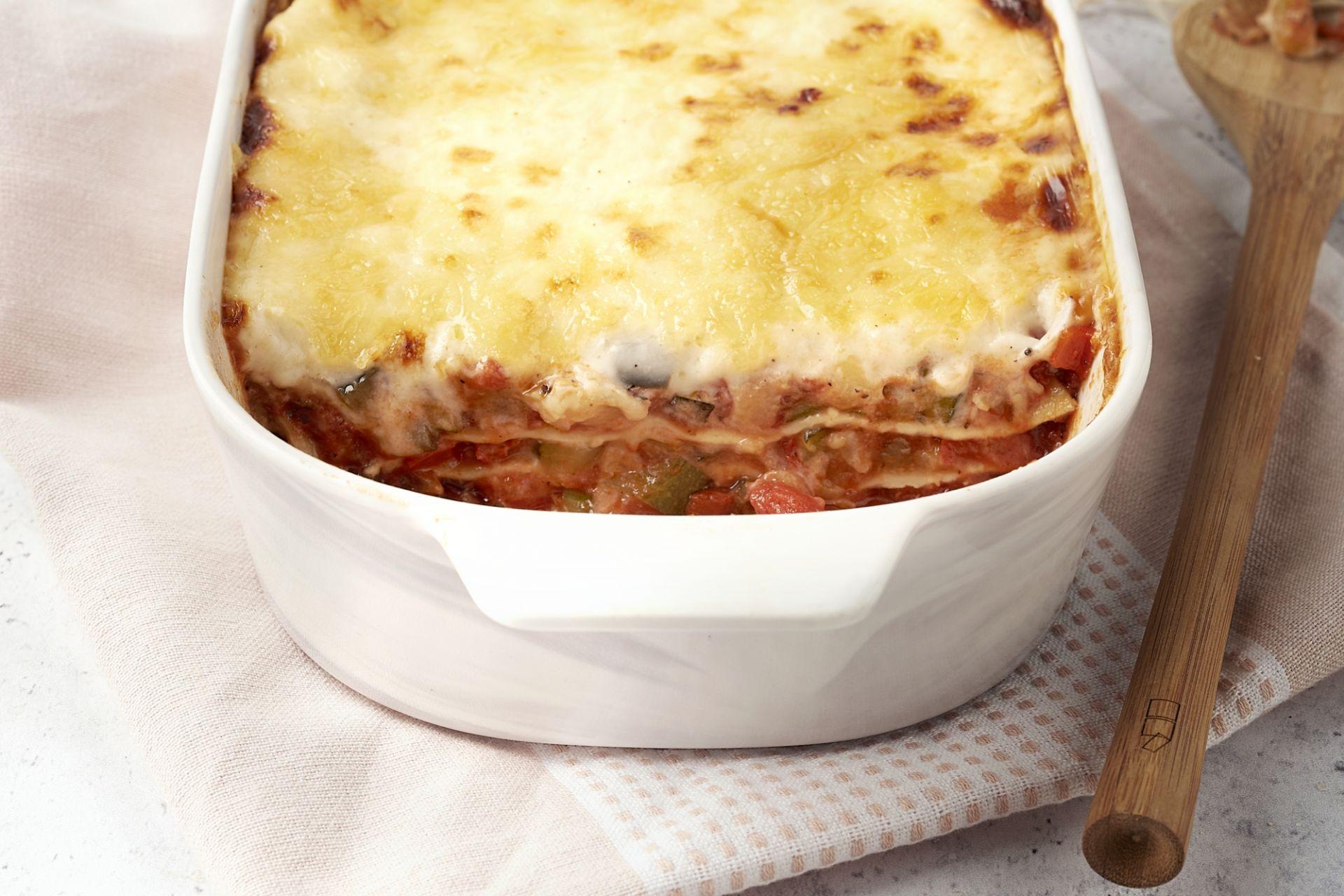 Lasagne ratatouille stijl