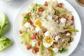 Foto van Caesar pastasalade