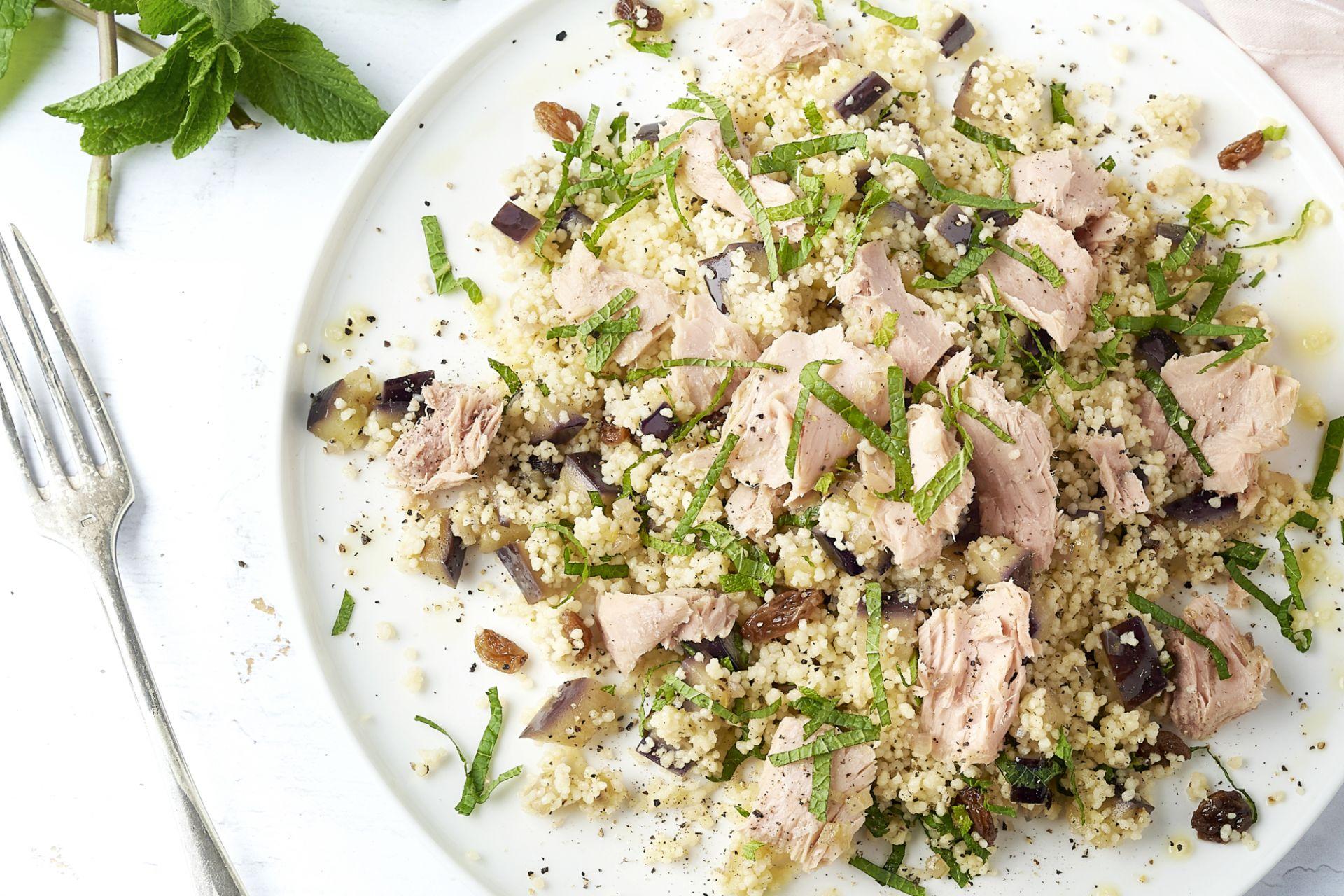 Siciliaanse couscous met tonijn