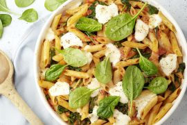 Foto van Laagjesschotel met pasta