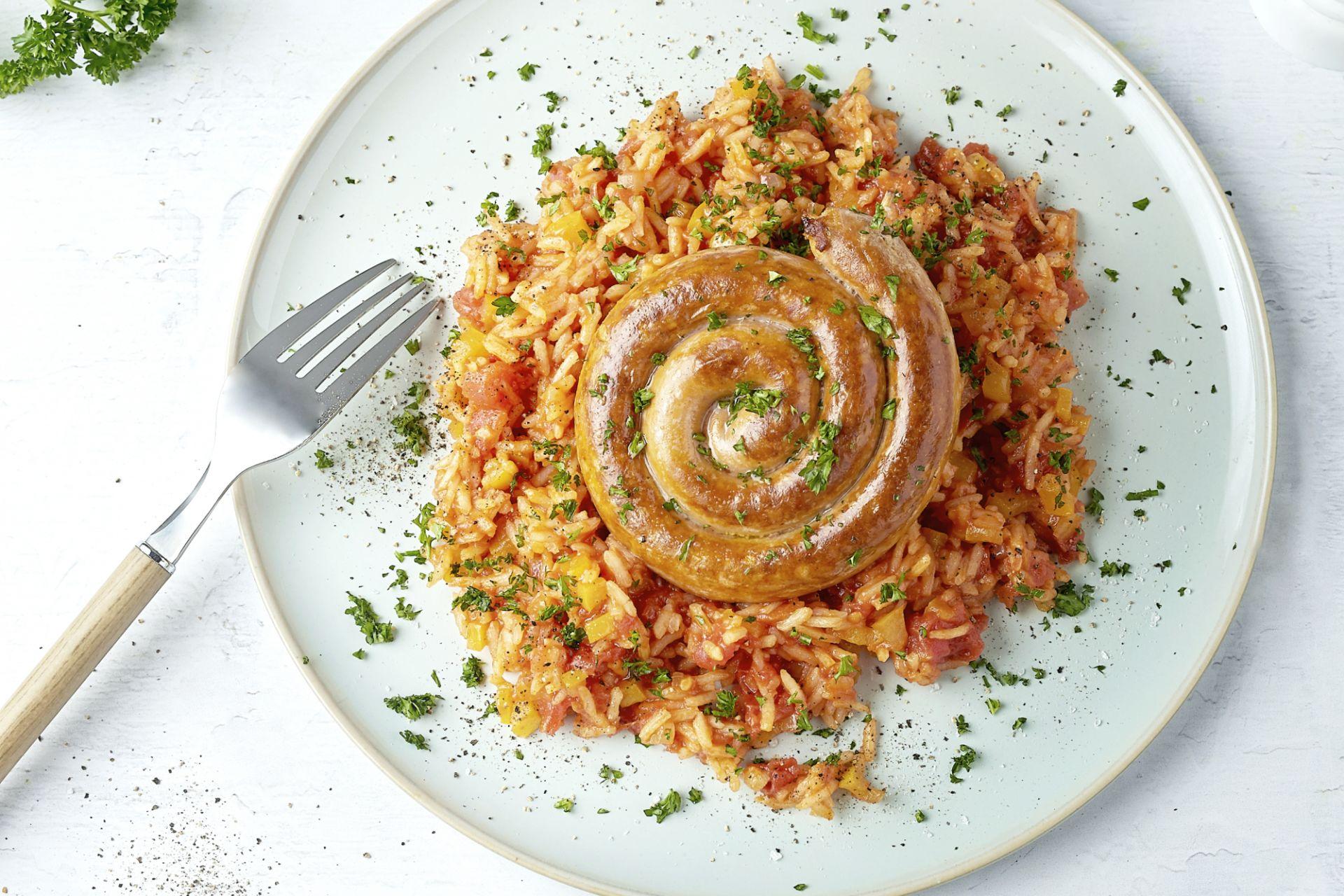 Spaanse rijst met merguez