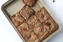 Foto van Brownies met pecannoten