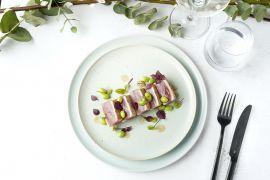 Foto van Tataki van tonijn