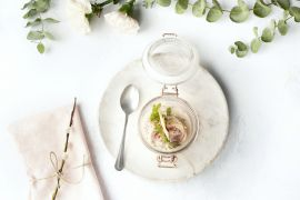Foto van Vitello tonato glaasjes