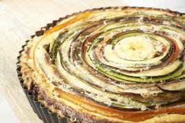 Foto van Spiraalquiche met groenten en ricotta