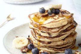 Foto van Lactosevrije pancakes