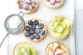 Foto van Fruittaartjes
