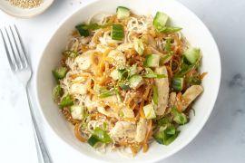 Foto van Sesam noodle bowls