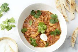 Foto van Snelle Indische curry met kip en tomaat