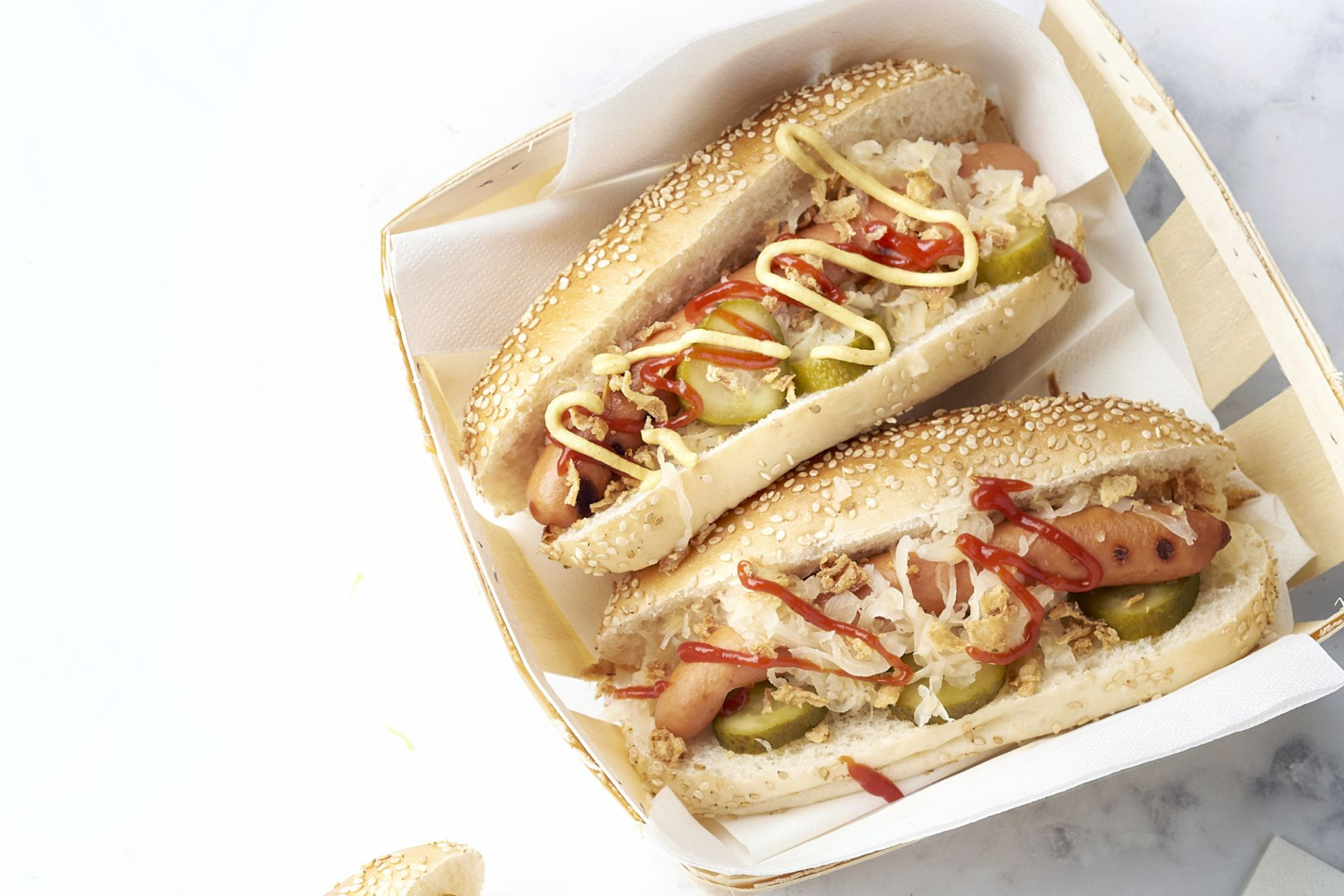 Snelle hot dogs