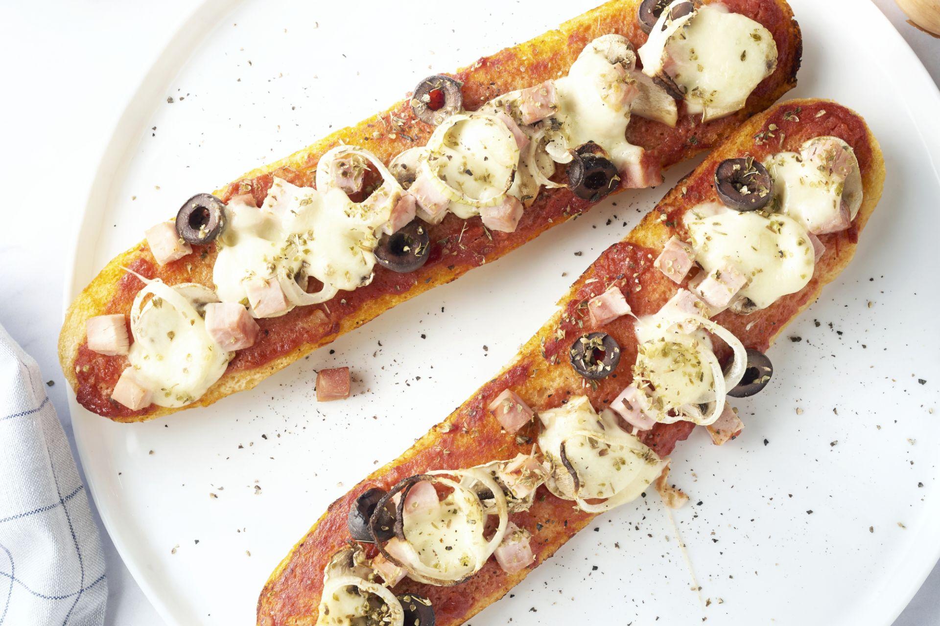Pizzabaguette quattro stagioni