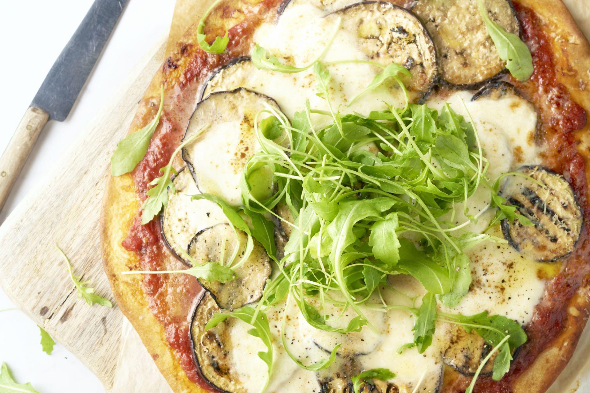 Pizza melanzane parmigiana