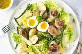Foto van Luikse salade met witte pens