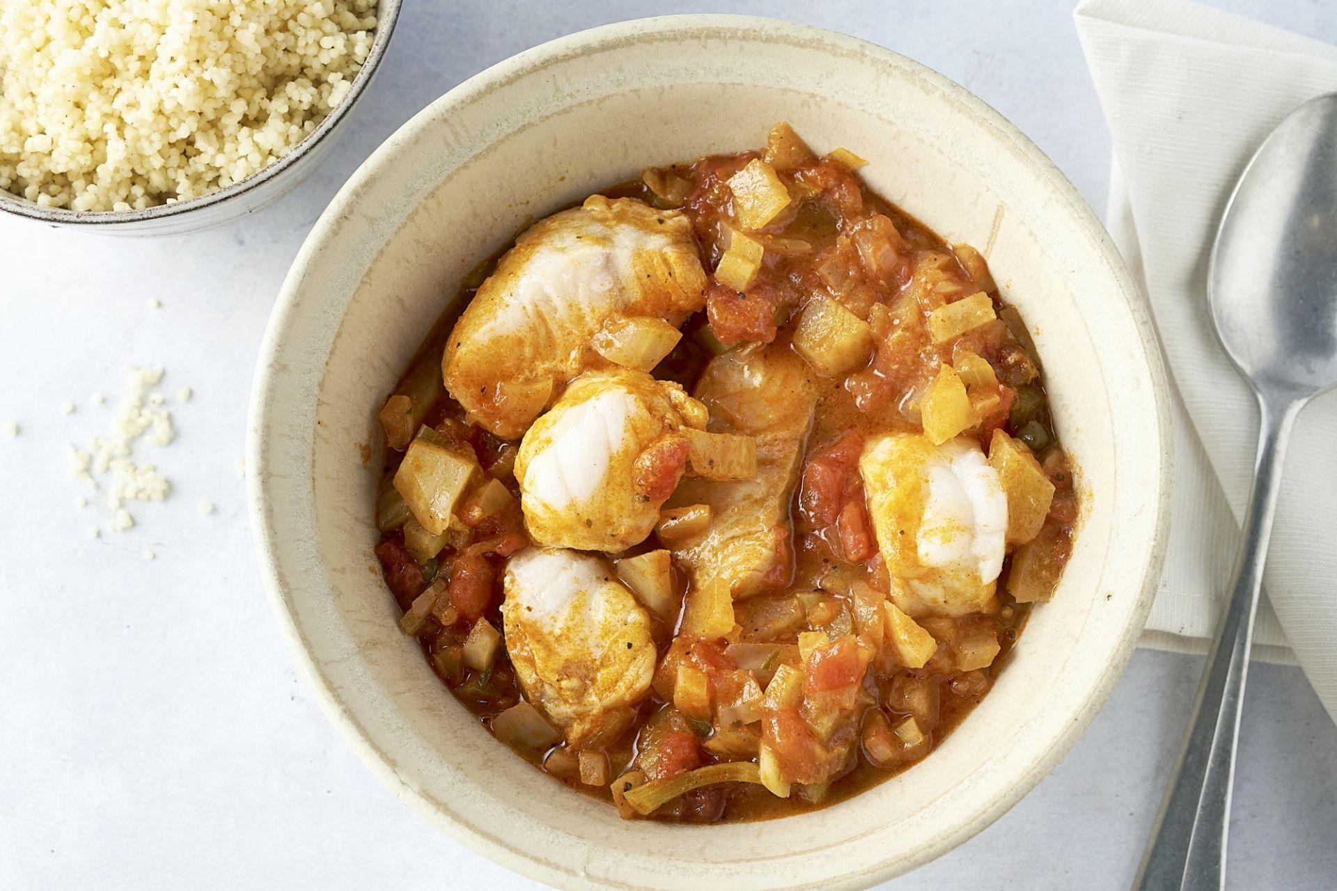 Siciliaans visstoofpotje met couscous