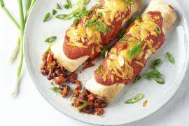 Foto van Chili con carne enchiladas